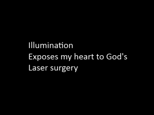 Prayer Light: light